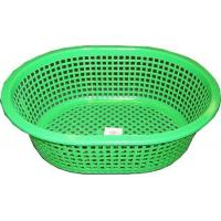 2395 - PLASTIC BREAD BASKET 3 ASST COLORS (13