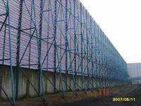 China Perfored Wire Mesh-Punching Hole Mesh- Wind Dust Controlling Nets on sale