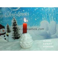 Quality PineconePorcelain pinecone candle holder for sale
