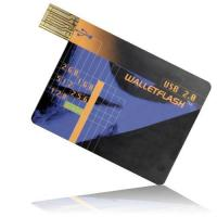 Buy cheap Card Credit Card USB Flash Disk from wholesalers