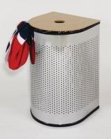 D-Stainless dirty clothes barrel