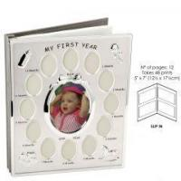 China Silver Plated My First Photo Album & Photo Frame on sale
