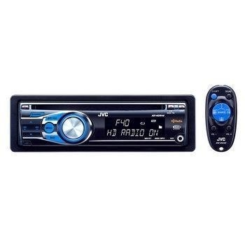 China JVC CD/USB Receiver w/ Built-In HD Radio/Bluetooth & Front Aux Input