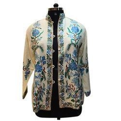Buy Merino Wool Women's Embroidery Jacket at wholesale prices