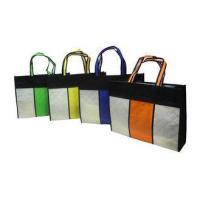 Square Reusable Carrier Bags / Reusable Grocery Bag For Advertising