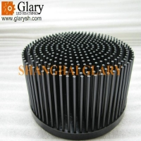 Buy cheap GLR-PF-163070 163mm round led heatsinks from wholesalers