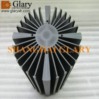 Buy cheap GLR-HS-253 160mm round aluminum led heatsink from wholesalers
