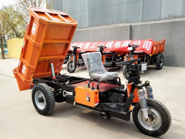 China HD1 Electric Mining Tricycle
