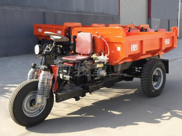 China H2-1 Diesel Mining Tricycle