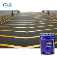 Quality Anti-abrasion and waterproof acrylic resin road marking paint for sale