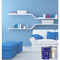 Quality Fast-drying Interior latex paint for internal wall decoration with non-toxic and strong adhesion for sale