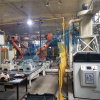 Quality ABB IRB 4600 Robot Waterjet for sale