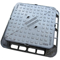 Quality Double triangle cast iron manhole cover for sale