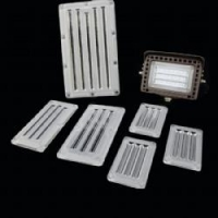 Buy cheap 80W Led lens 224X132mm 60X120D Lens from wholesalers