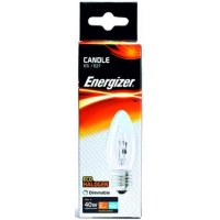 Quality 33W ES ECO HALOGEN CANDLE CLEAR ENERGISER BOXED for sale