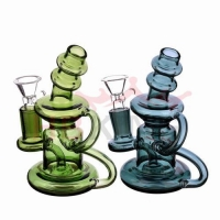 Quality HBking R3 mini recycler glass water pipe for sale