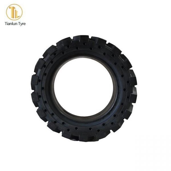 China Forklift-Solid-Tire Skid Steer Tire