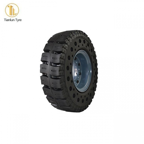 China Forklift-Solid-Tire Solid Cushion Tire