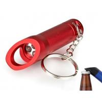 Quality 3 LED Flashlight Key Chain with Bottle Opener for sale