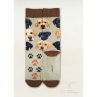 Quality socks series Classic Dogs - Labrador Pup Face for sale