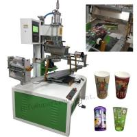 Quality heat transfer machine for plastic cups for sale