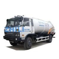Buy cheap dongfeng white color waste water truck sewage disposal tanker truck 10000L from wholesalers