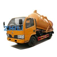 Buy cheap Dongfeng Vacuum Sewage Suction Truck vacuum tankers 4000L from wholesalers
