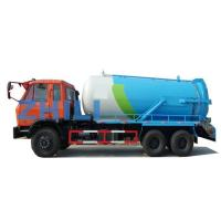 Buy cheap dongfeng 6 4 vacuum tanker truck 16000L from wholesalers