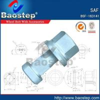 China Cold Forged SAF Wheel Nuts and Bolts on sale
