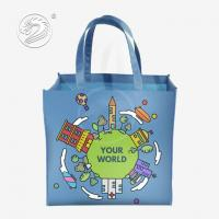 Quality PP Non-woven Laminated Fabric Packaging Tote Bags for sale