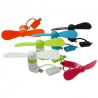 Buy cheap 2 in 1 Mini Fan For Smart Phones from wholesalers