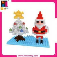 Quality 166PCS tree model Father Christmas building blocks 3d christmas toy for children for sale