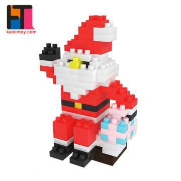 Buy Christmas decoration 2017 Funny Intelligence toys DIY plastic micro block toy at wholesale prices