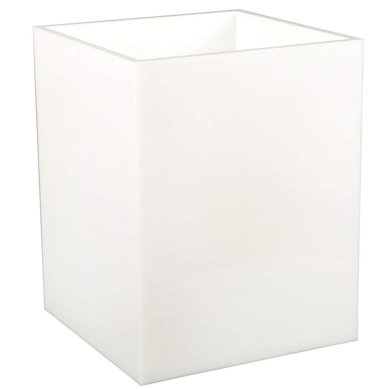 Buy cheap Acrylic Trash Waste Bin from wholesalers