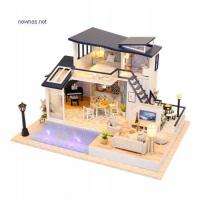 Buy DDHD01 High Quality DIY Doll house at wholesale prices