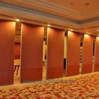 China Folding active aluminium movable partition wall sliding foldable fabric finish removable on sale