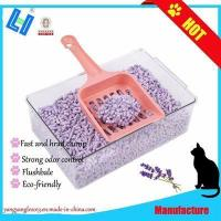 Hot Sale Tofu Cat Litter with Lavender scent and Fast Clump
