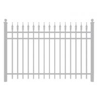 Custom Made Different Type Of Aluminum Fence Manufacture And Supplier