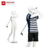 Buy cheap New Type Golf Egg Head Male Sports Mannequin from wholesalers
