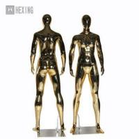 China Female Gold Mirror Mannequin on sale