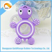 Quality Teether turtle shape silicone teether sensory toys/silicon kids toys for sale