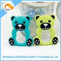 Quality More than 3 months baby silicone best teething toys for sale