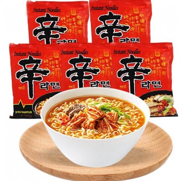 Buy Mushroom Beef Ramen Instant Noodles SN-024 at wholesale prices