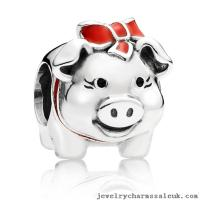 China Sterling Silver Pandora Silver Piggy Bank on sale