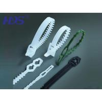 Quality Nylon cable tie Fish bone shape head ties for sale