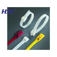 Quality Nylon cable tie Double locking cable ties for sale