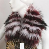 Buy cheap dyed color top quality real raccoon fur jacket collar from wholesalers