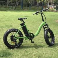 Buy cheap 20X4.0 500w folding electric fat bike from wholesalers