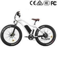 Buy cheap 26X4.0 48v 1000w electric fat bike from wholesalers