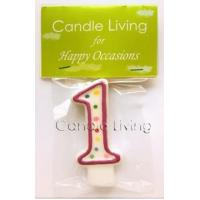 China Carnival Numerical Candle, #1 on sale